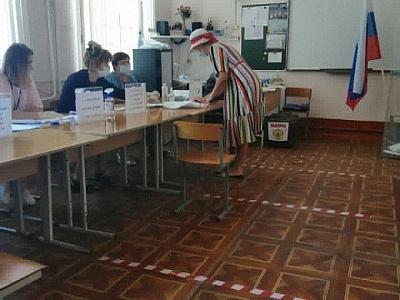 Досрочное голосование в Кропоткине. День второй.