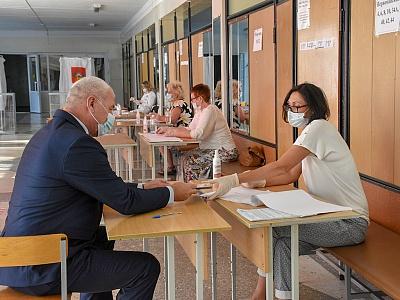 Выборы главы администрации (губернатора) Краснодарского края проходят на Кубани