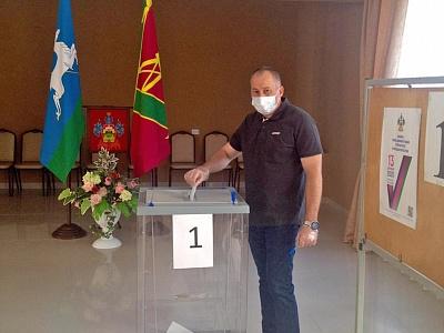 С сегодняшнего дня в Кропоткине началось досрочное голосование на выборах, назначенных на единый день голосования